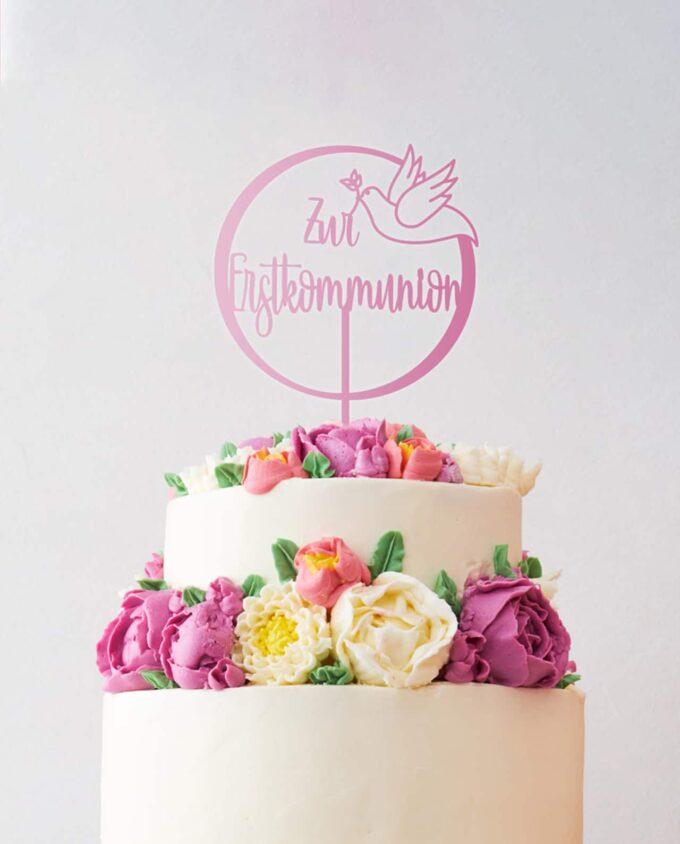 Cake Topper Erstkommunion
