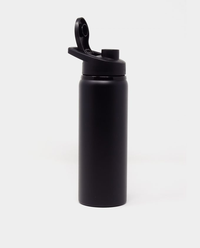 "Sportbottle ""Free"" in schwarz 