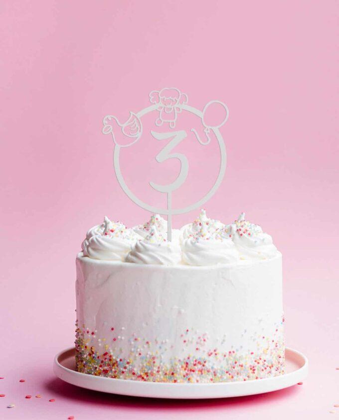 CakeTopper Girl