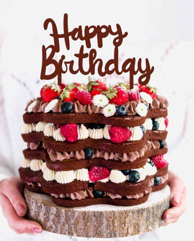 CaketTopper Happy Birthday