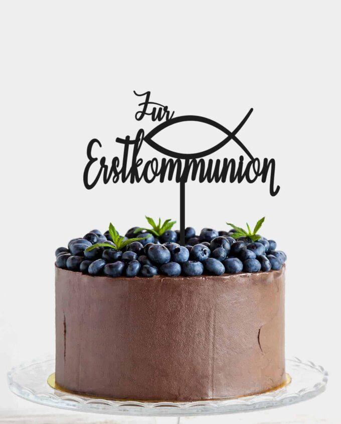 CakeTopper Erstkommunion