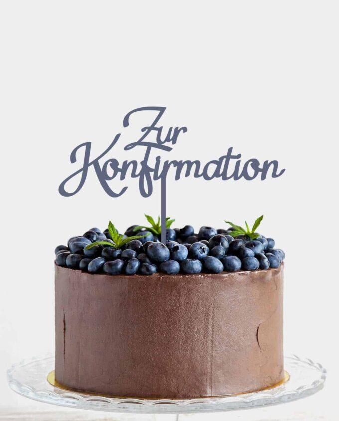 CakeTopper Konfirmation