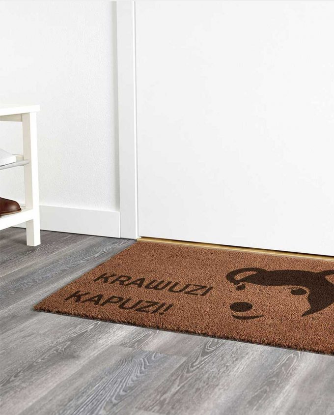 Personalisierte Fußmatte