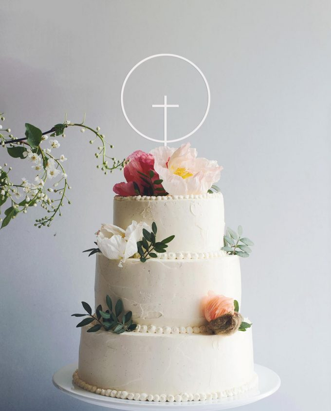 Cake Topper Kreuz