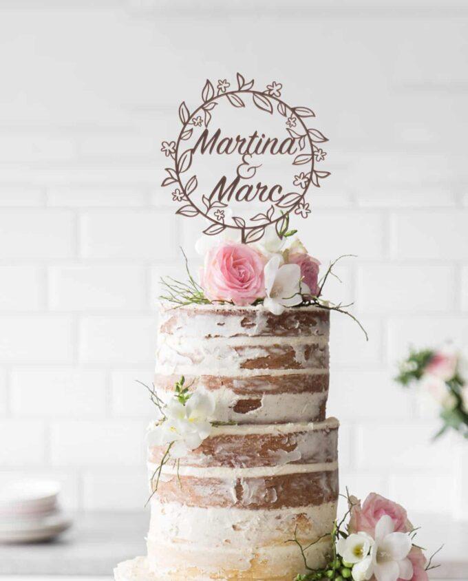CakeTopper Kranz