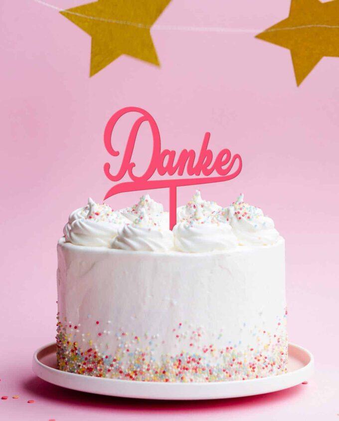 CakeTopper Danke