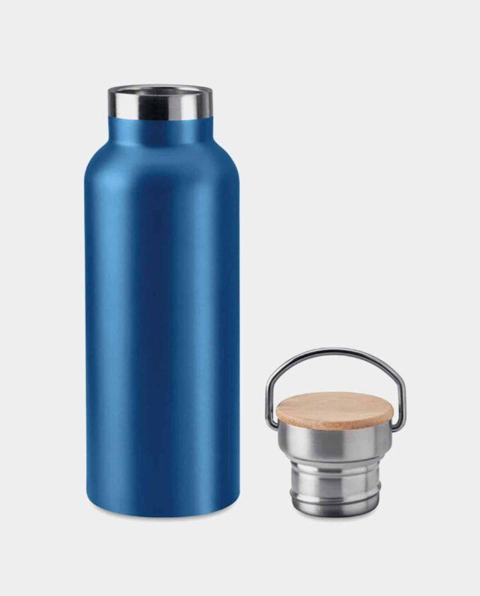 Trinkflasche Meta Blau