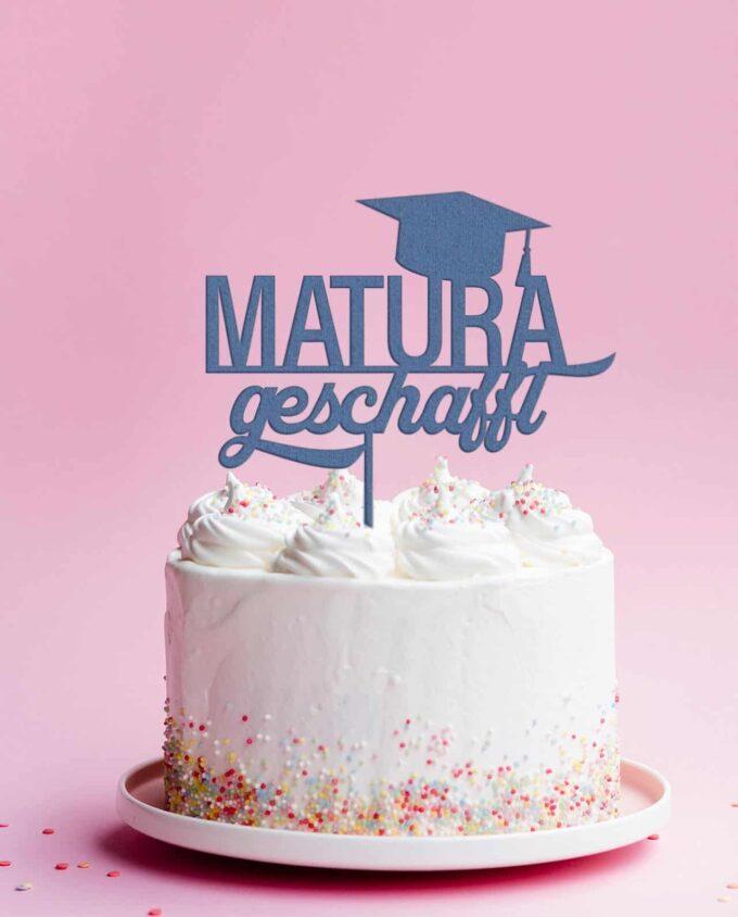Cake Topper Matrua Geschafft